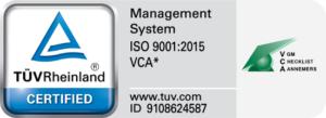 ISO VCA certificering